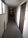 ホテル部分廊下