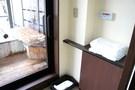 スパガーデンスイート 露天風呂付客室の入り口