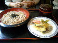 夏野菜天ぷらそば