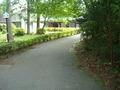 庭園内の道