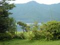 露天から芦ノ湖
