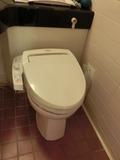 部屋のトイレ