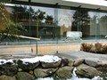 露天から見た大浴場