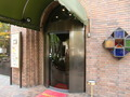 山下公園側からのレストラン「杏樹」&「なみき」の入り口