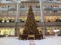 2012年ランドマークタワープラザのクリスマスツリー