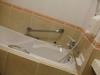 ホテルの部屋のお風呂です。