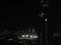 NTTドコモビル、国立競技場、小さく見えた東京タワーの夜景