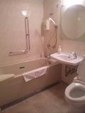 浴室、トイレが広いです