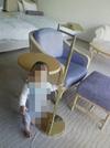 デラックスツインの椅子