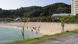 セイルフイッシュカフェ前から見たビーチ