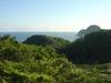 休暇村竹野海岸からの風景