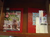 部屋に常設された雑誌など・・・