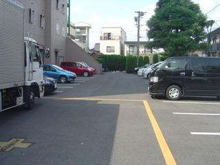 駐車場【小牧セントラルホテル】