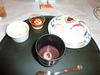 渚亭 夕食 デザート