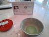 到着したら、抹茶と和菓子をいただけます!