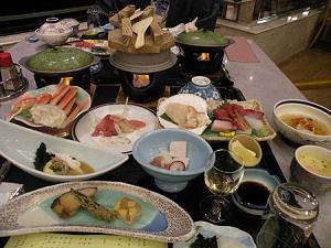 南三陸ホテル観洋 夕食