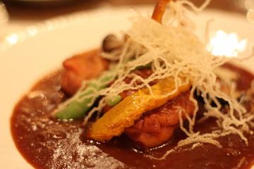清里のペンション エストレリータ お食事(メイン(お肉))