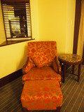 一人掛け椅子とオッドマン