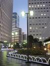 ニューオータニイン東京 前の広場