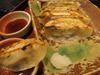 「糸ぐるま」の焼き餃子