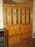 部屋の前の扉