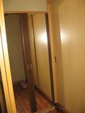 お部屋の前の鏡