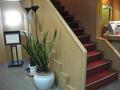 フロント横の階段