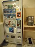フロント付近の自販機
