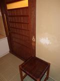 花小宿の浴室・バリアフリーのお風呂の脱衣所入り口のドア