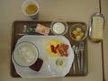 1Fダイニングルームでの朝食バイキング
