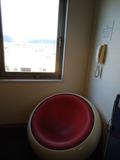 まぁるい椅子