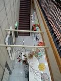2階から見たフロント