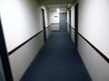 部屋へ行く途中の廊下の風景です