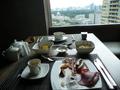 朝食はこちら