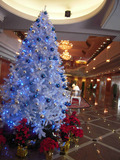 ロビーに飾られているツリー
