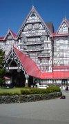 ヨーロッパのリゾートホテルのような外観!