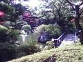 陣屋の見事な日本庭園