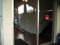 お風呂場への廊下