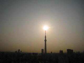 東京スカイツリーキャンドル