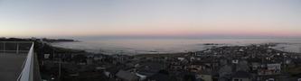 夕方の風景