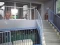 フロント階からの階段