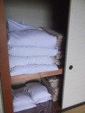 押し入れの布団