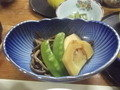 夕食・山菜