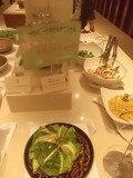 夕食バイキング・サラダです