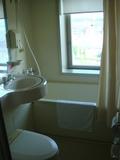 明るく開放感のあるお風呂場