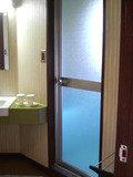 部屋のお風呂入口