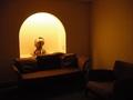 廊下の休憩スペース