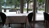 朝食会場からの景色