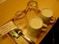 客室のカップ