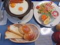 朝食も準備されていました。